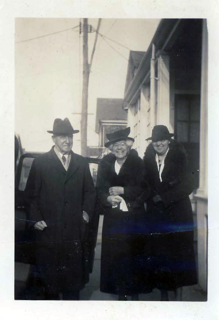 James Sheekey with his wife, Bridget Ronayne.  3rd Women is unidentified.